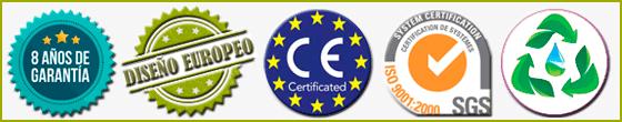 Certificados de Calidad - Marcado CE