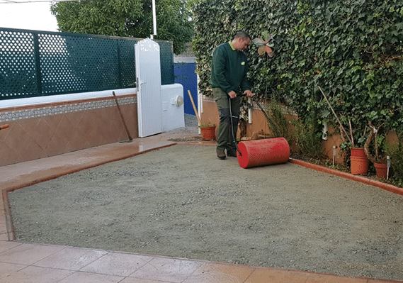 Preparación de Terreno para Césped Artificial