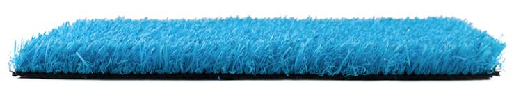 Césped Artificial Azul 25 MM Premium Colour