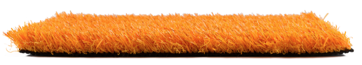 Césped Artificial Naranja 25 MM Premium Colour