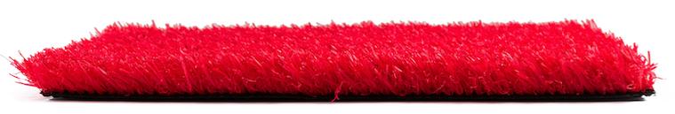 Césped Artificial Rojo 25 MM Premium Colour