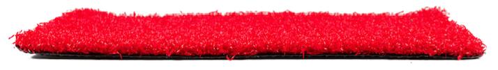 Césped Artificial Rojo TD 23 Texturizado