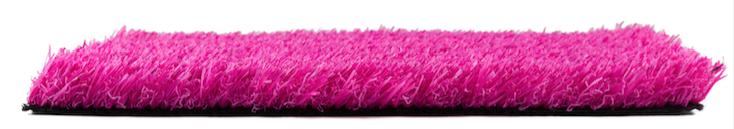 Césped Artificial Rosa 25 MM Premium Colour