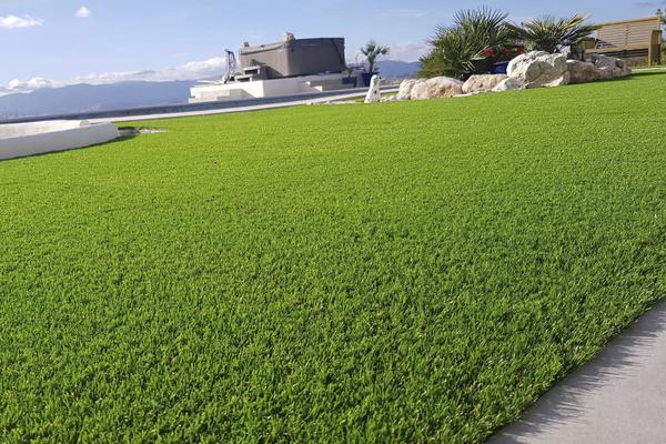 Instalación Garden Grass Césped Artificial